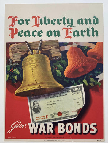 For Liberty and Peace on Earth - Poster Museum