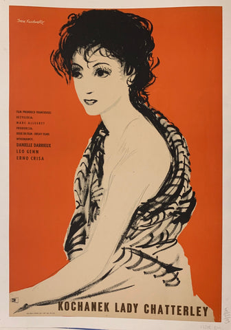 Kochanek Lady Chatterley Film Poster