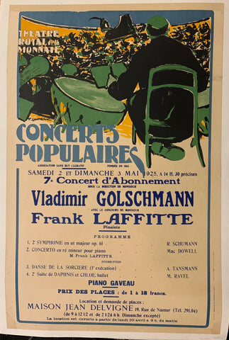 Concerts Populaires Poster