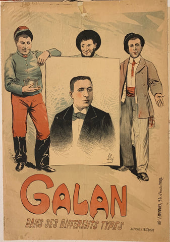 Galan Dans Ses Differents Types Poster