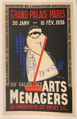 Salon des Arts Menagers Poster