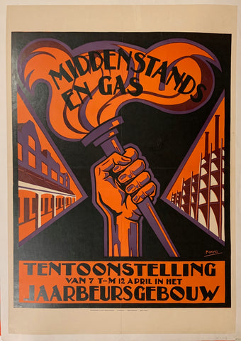 Middenstands En Gas Poster