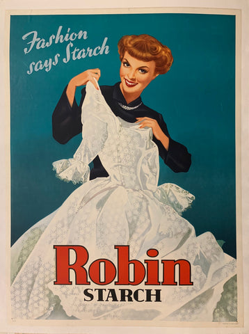 Robin Starch Poster