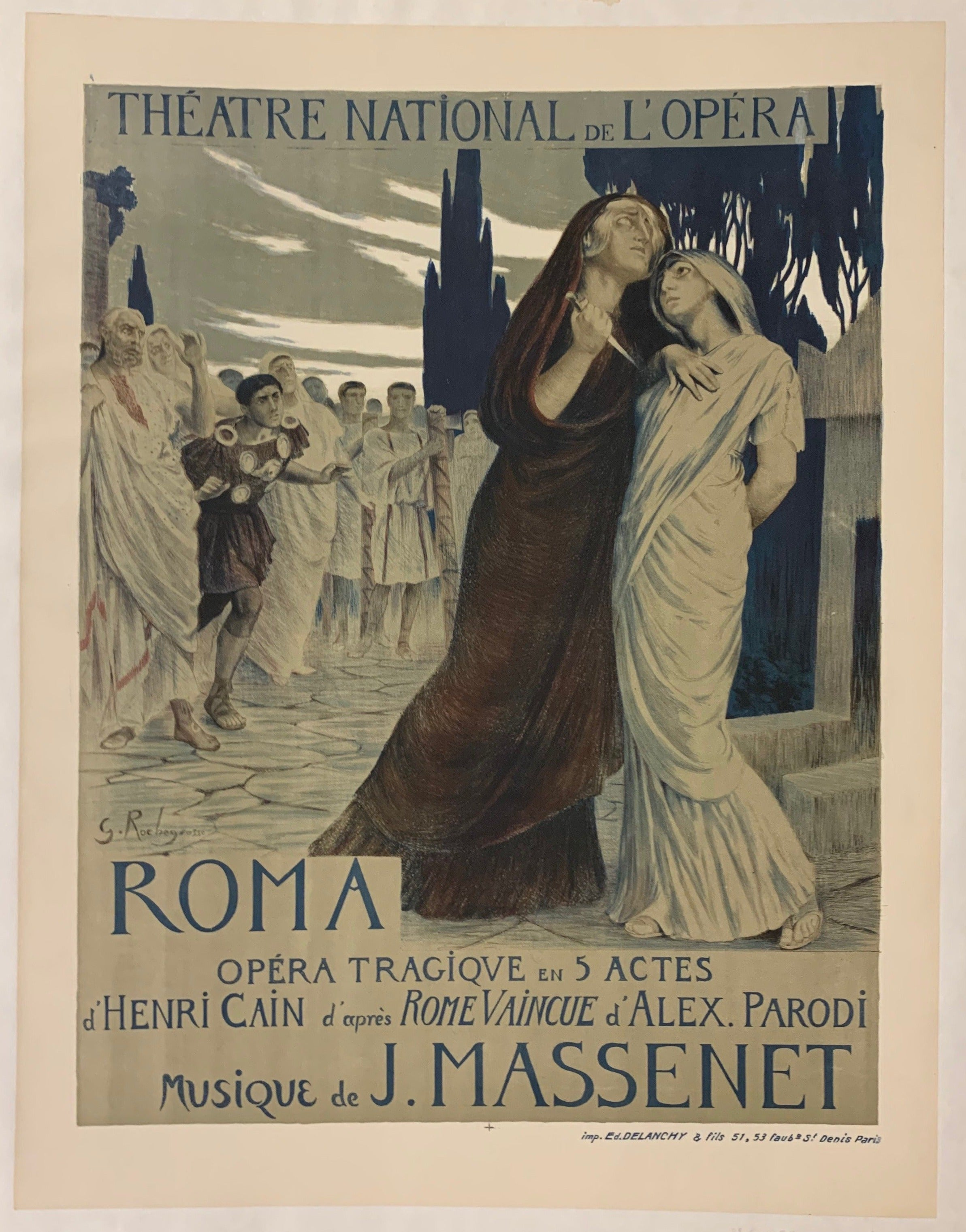 Roma Theater Poster