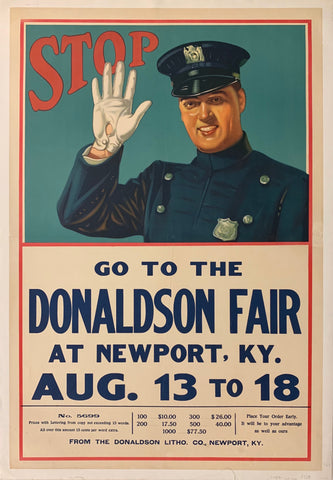 Go to the Donaldson Fair at Newport KY