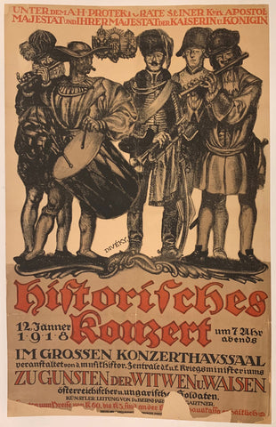 Austrian World War I Propaganda Poster