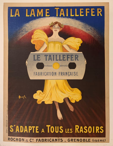 La Lame Taillefer Poster