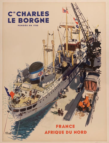 Charles le Borgne Poster