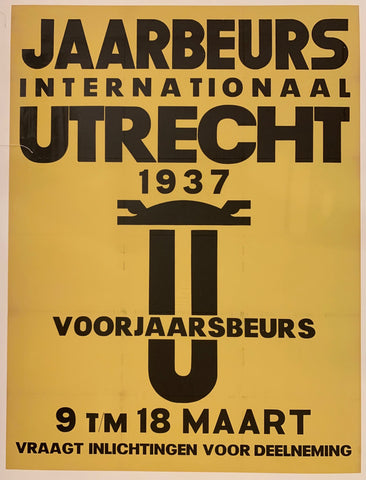 Jaarbeurs Internationaal Utrechct Poster