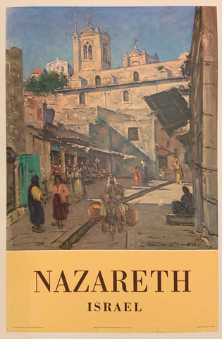 Israel Travel Poster