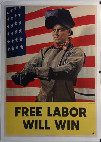 Free Labor Will Win - Poster Museum
