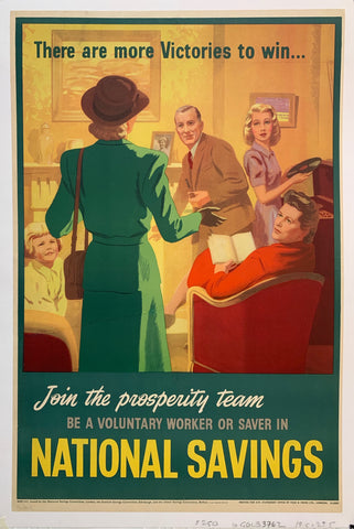 Join the prosperity team, be a voluntary worker or saver in National Savings
