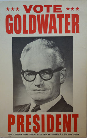 Vote Goldwater for President