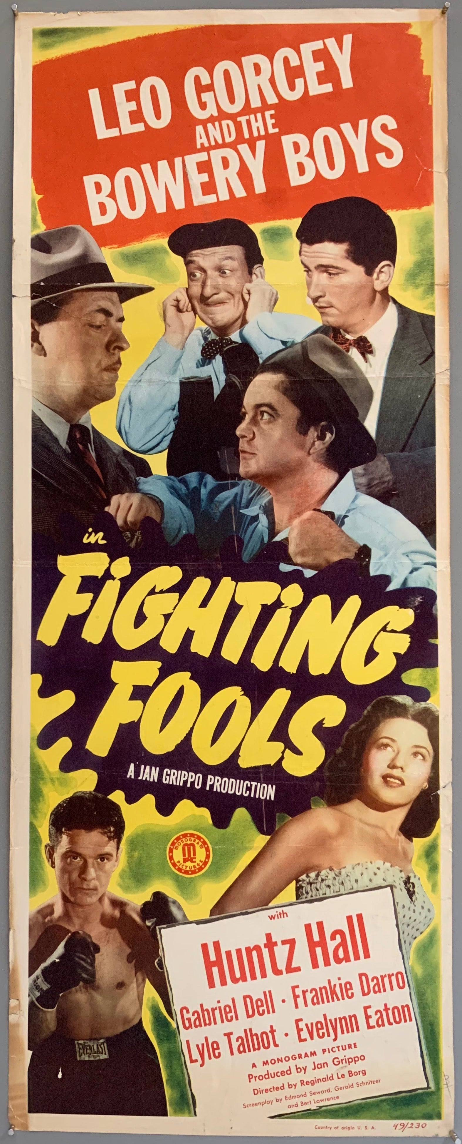 Fighting Fools Poster
