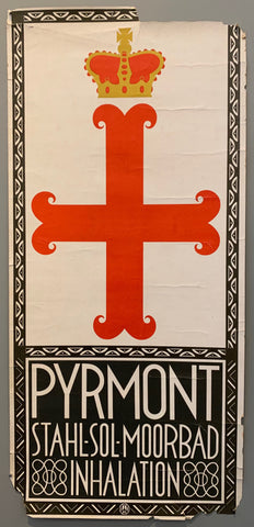 Pyrmont Stahl-Sol-Moorbad Poster
