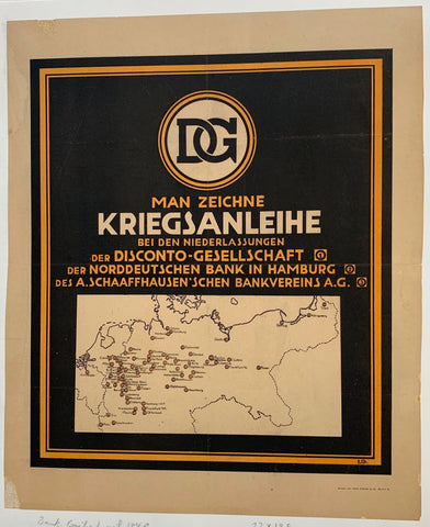Man Zeichne Kriegsanhleihe/Buy War Bonds