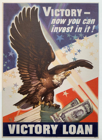 Victory - now you can invest in it! Victory Loan. - Poster Museum