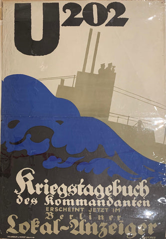 U202 Kriegstagebuch Des Kommandanten/ U202 War Diary of The Commander