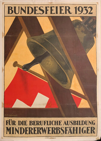 1932 German Celebration Poster - Poster Museum