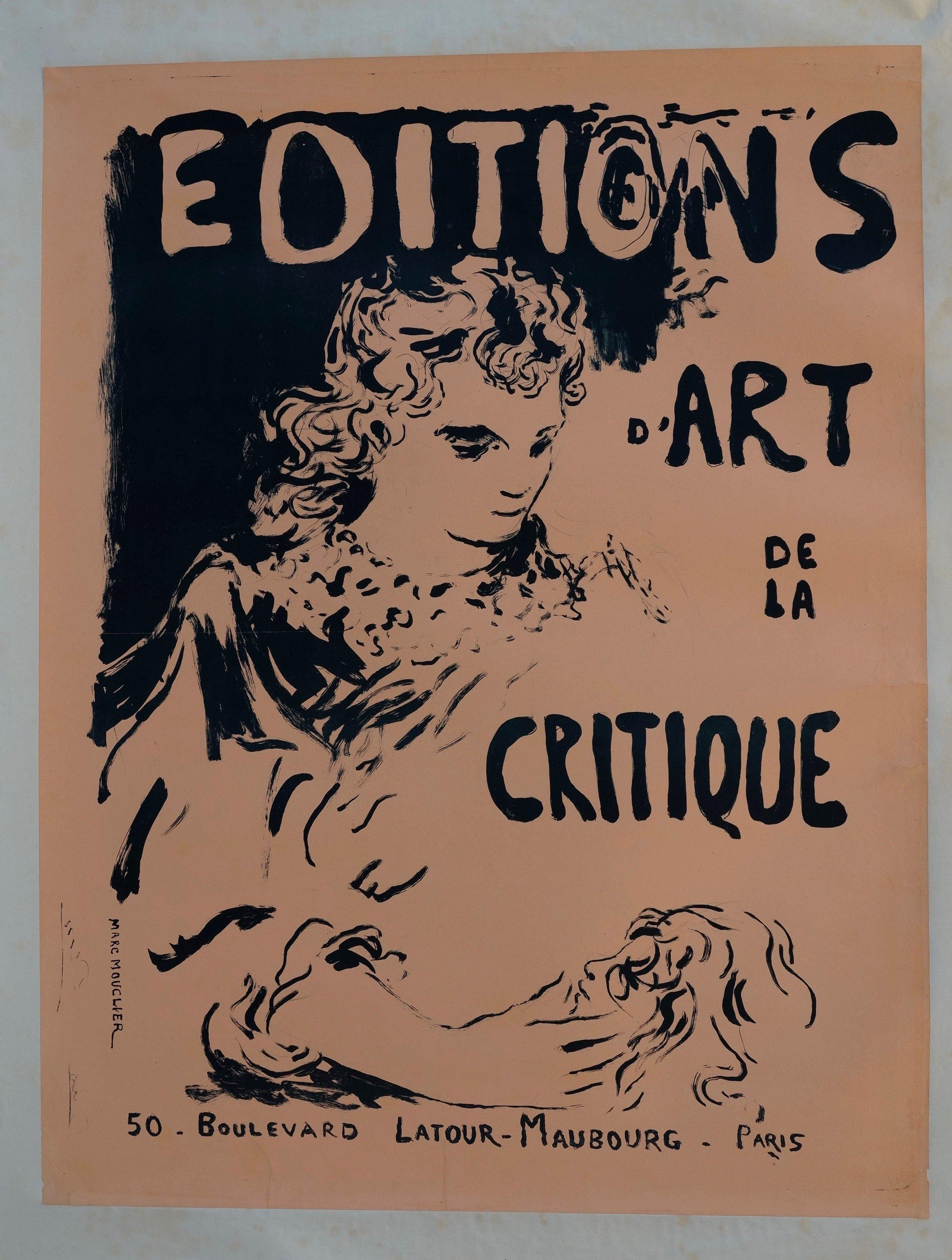 Éditions d'Art de la Critique - Poster Museum