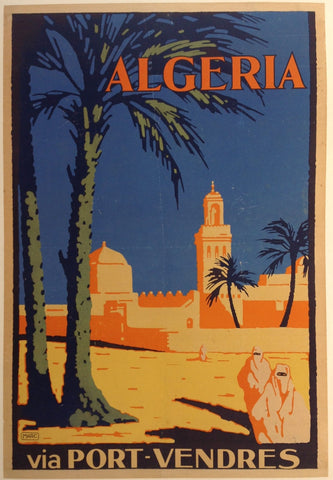 Algeria via Port-Vendres