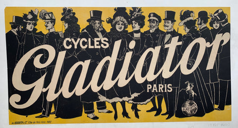 Cycles Gladiator Paris Yellow