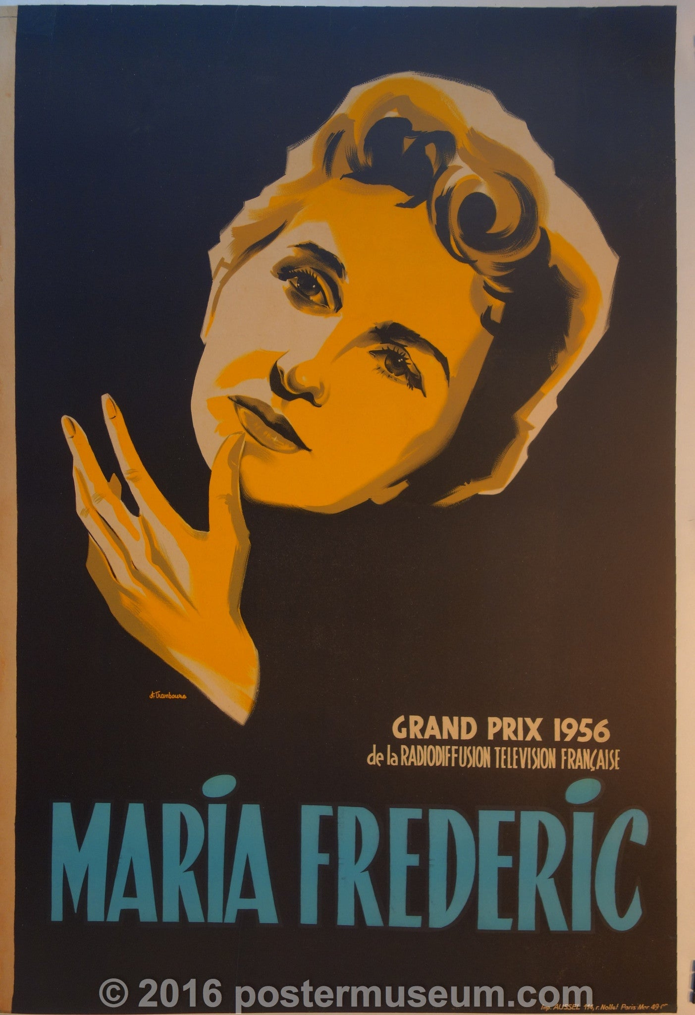 Maria Frederic Poster