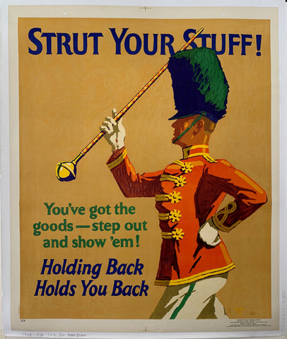 Strut Your Stuff Mather Poster
