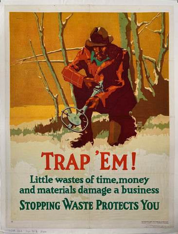 Trap 'Em Mather Poster