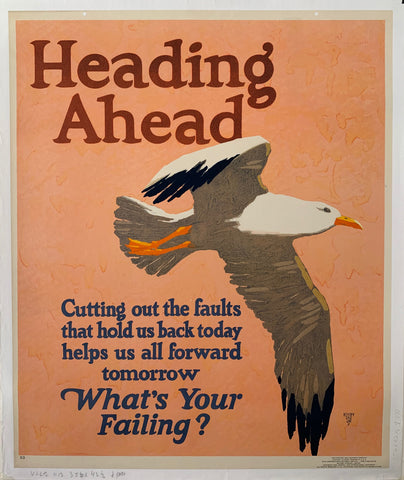 Heading Ahead Mather Poster
