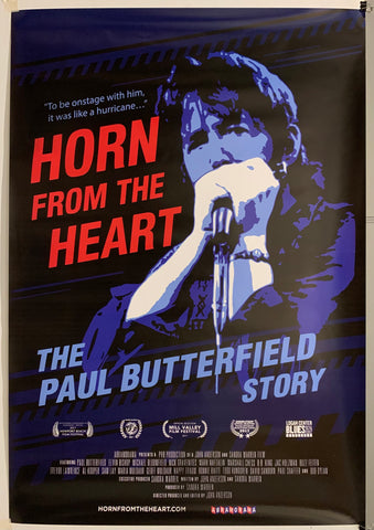 Horn From The Heart:the Paul Butterfield Story Poster