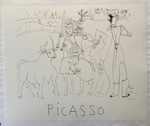Sketch of a Picasso Print