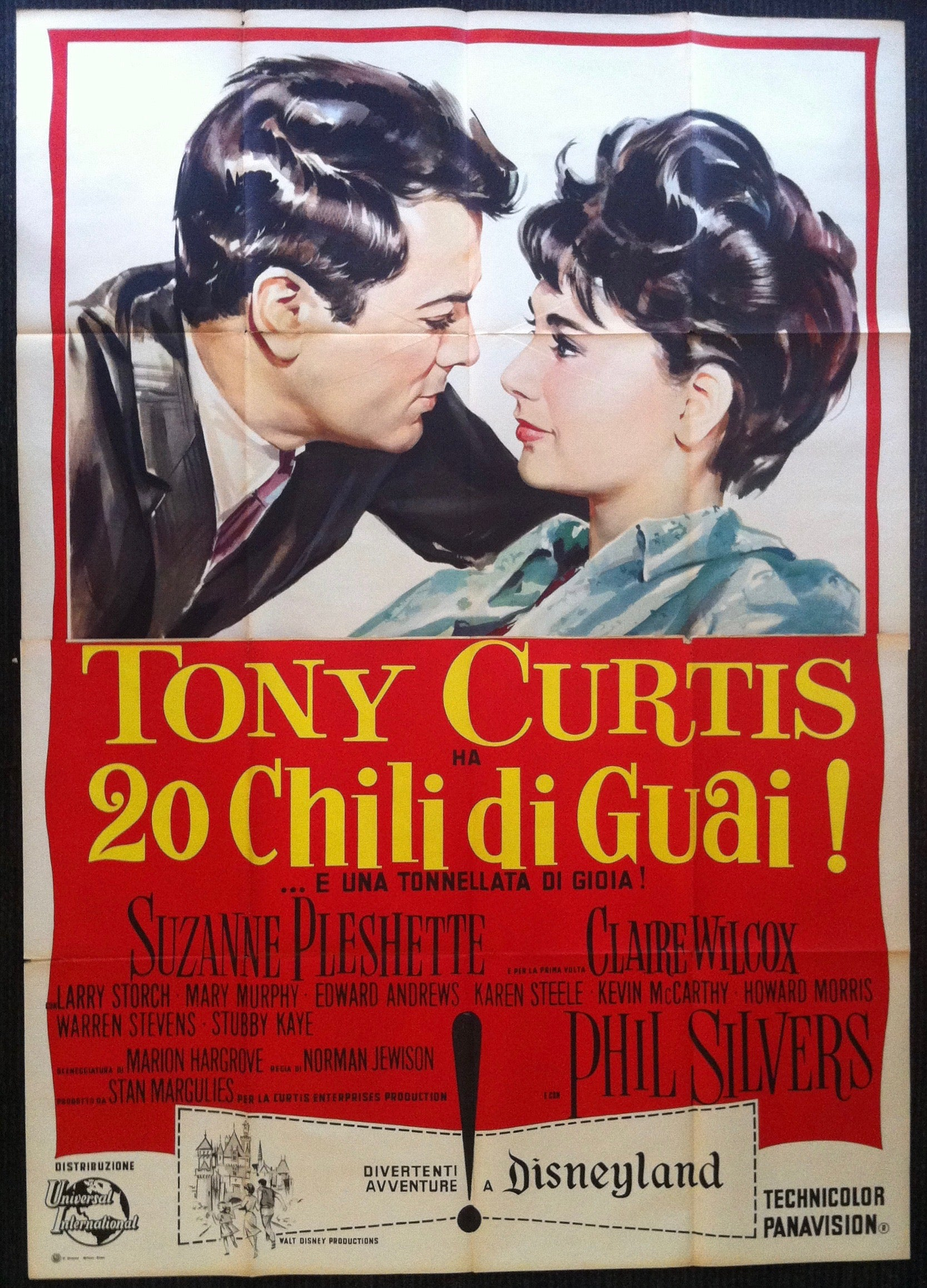 Tony Curtis Ha 20 Chili Di Gua !