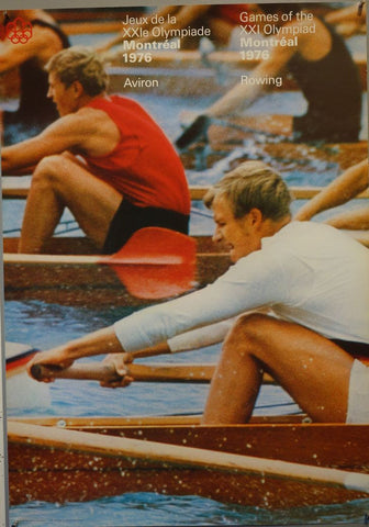 Games of the XXI Olympiad Montreal 1976 Rowing