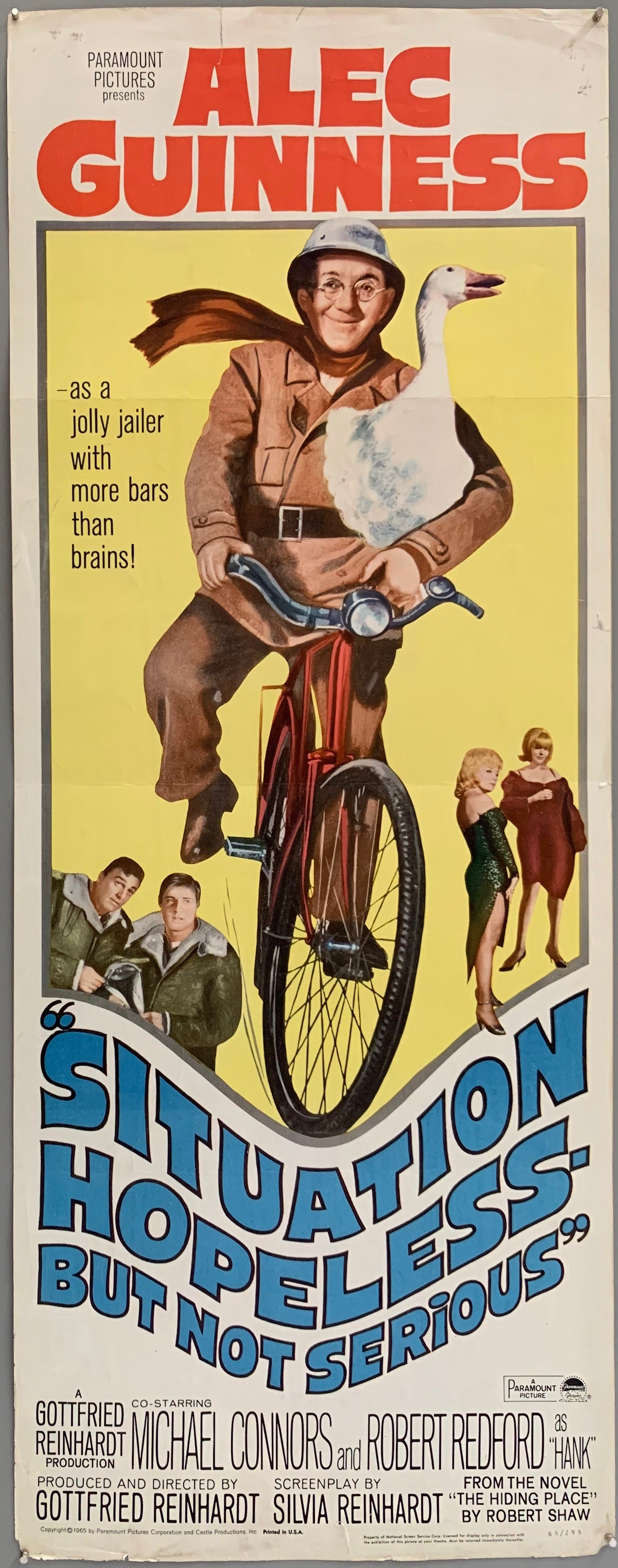 Situation Hopeless -- But Not Serious Poster