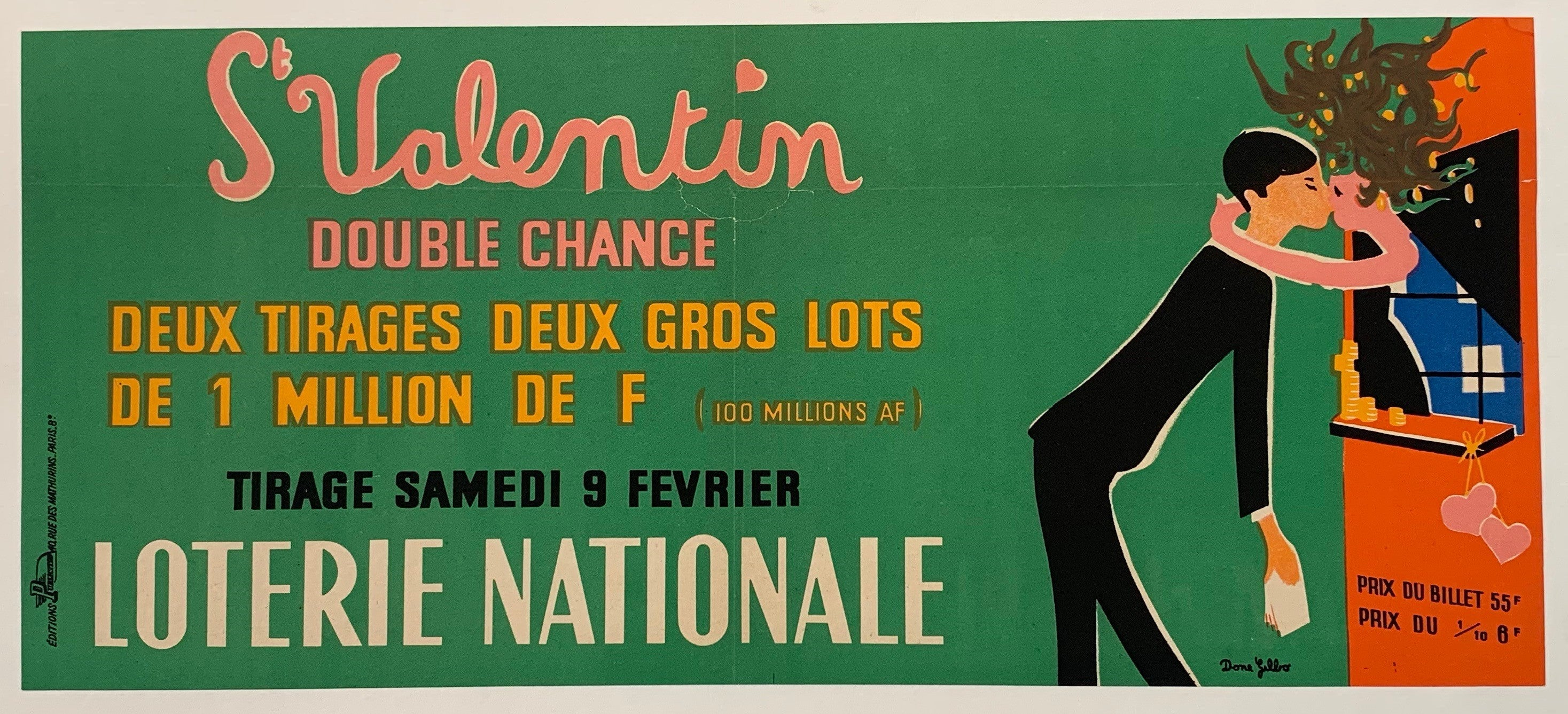 Loterie Nationale - Double Chance