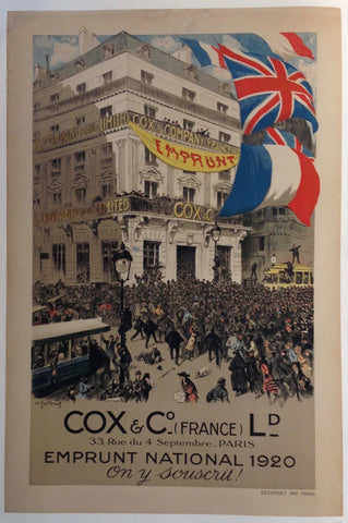 Cox & Co (France) Ld -- Emprunt National 1920 1
