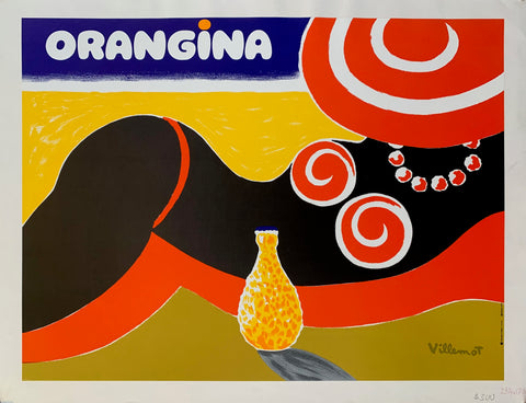 Orangina Retro Advert