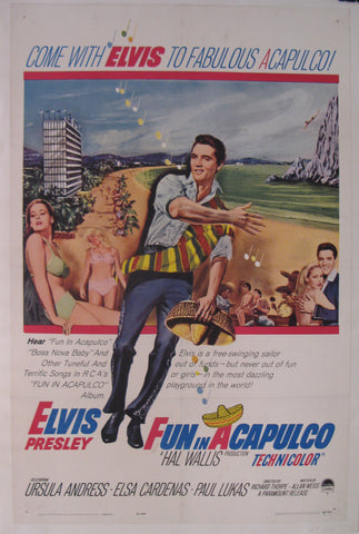 Come with Elvis to fabulous Acapulco