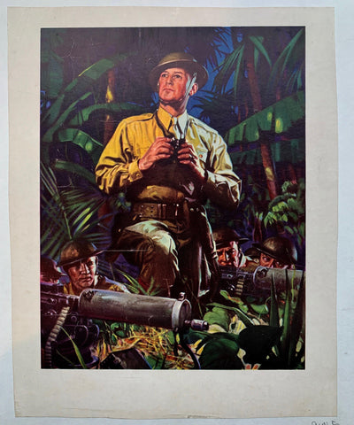 Troop Scouting in Jungle - Poster Museum
