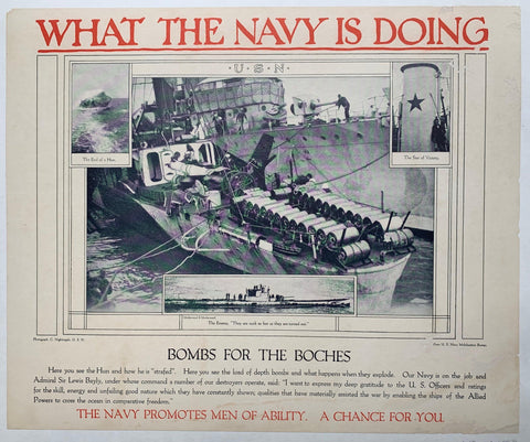 What the Navy is Doing 2 - Poster Museum
