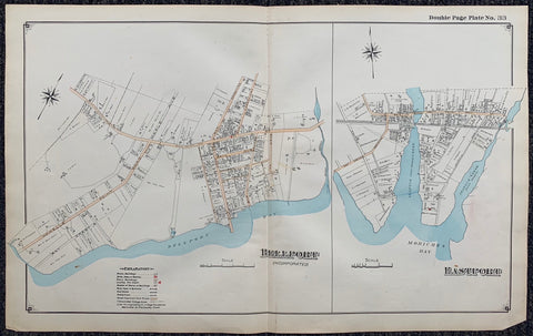 Long Island Index Map No.2 - Plate 33 Bellport