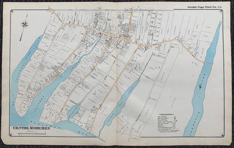 Long Island Index Map No.2 - Plate 34 Centre Moriches