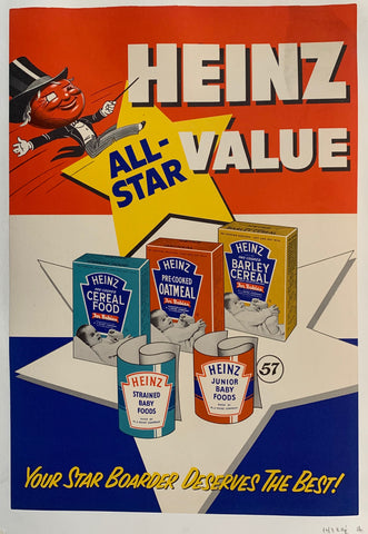 "Heinz ""All-Star"" Value; Your Star Boarder Deserves the Best!"