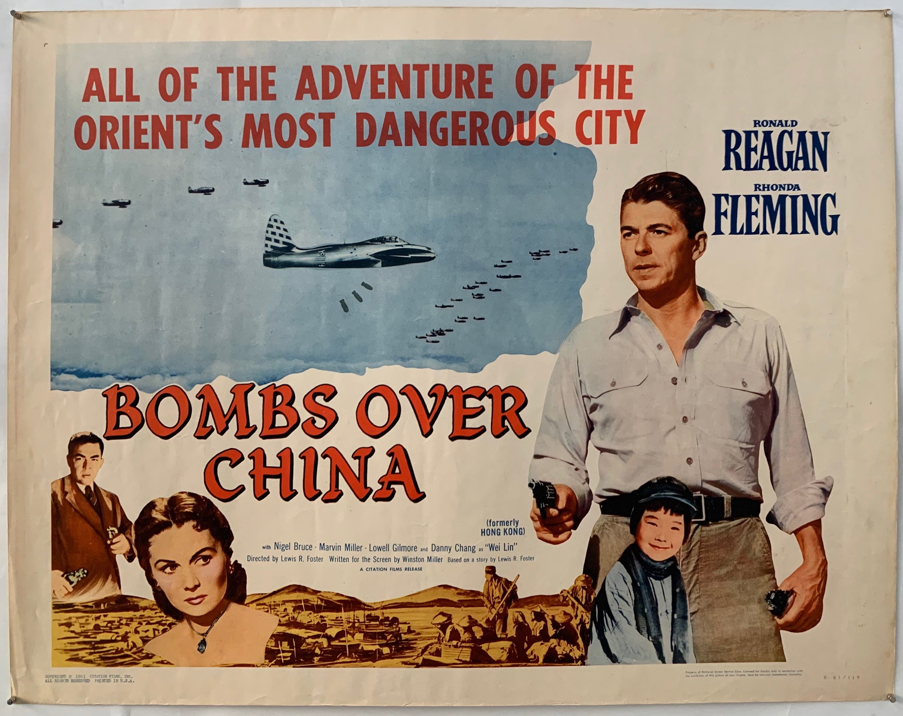 Bombs Over China Poster