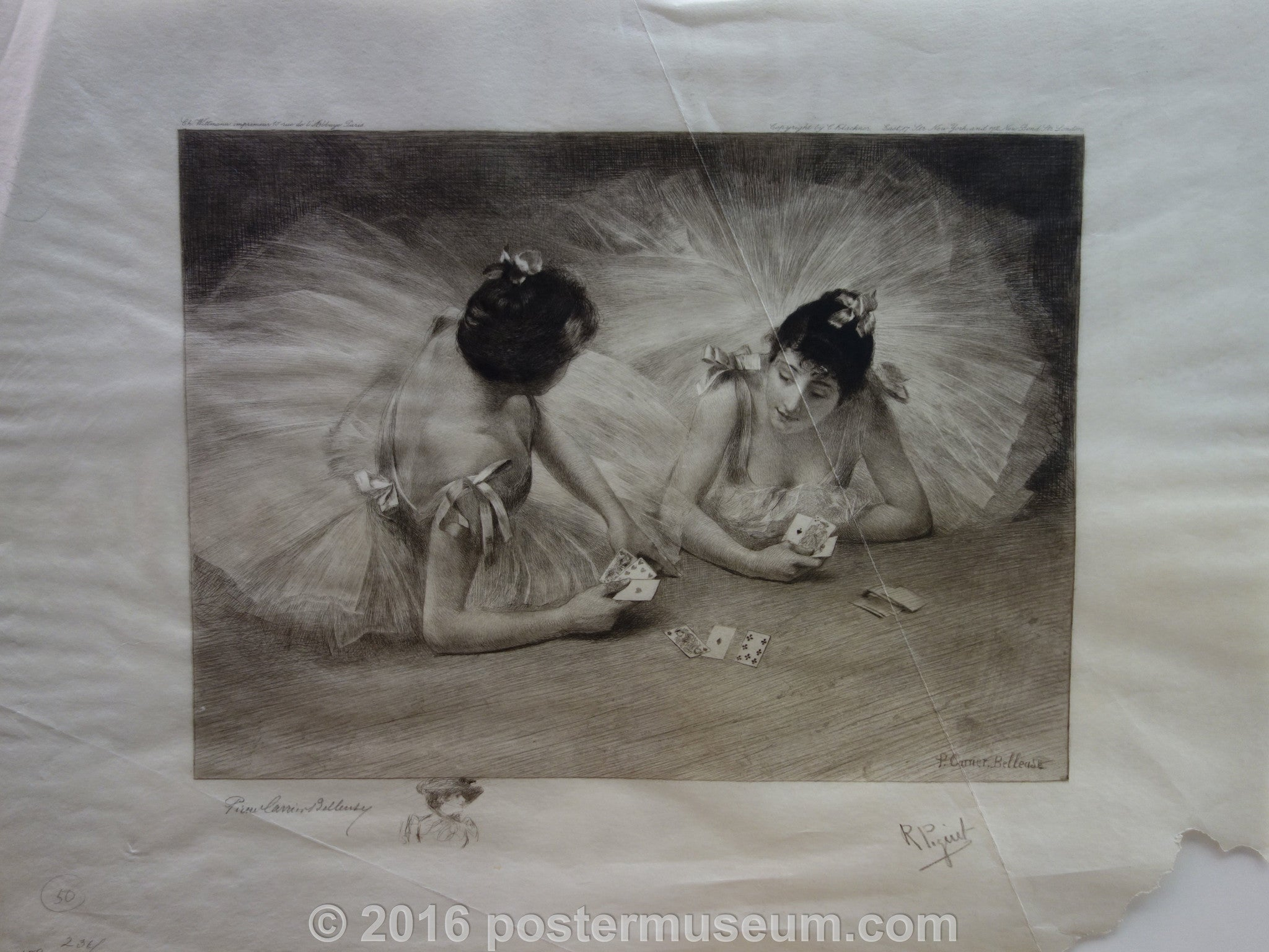 Ballerinas Playing Cards