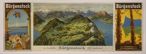 Burgenstock Travel Poster