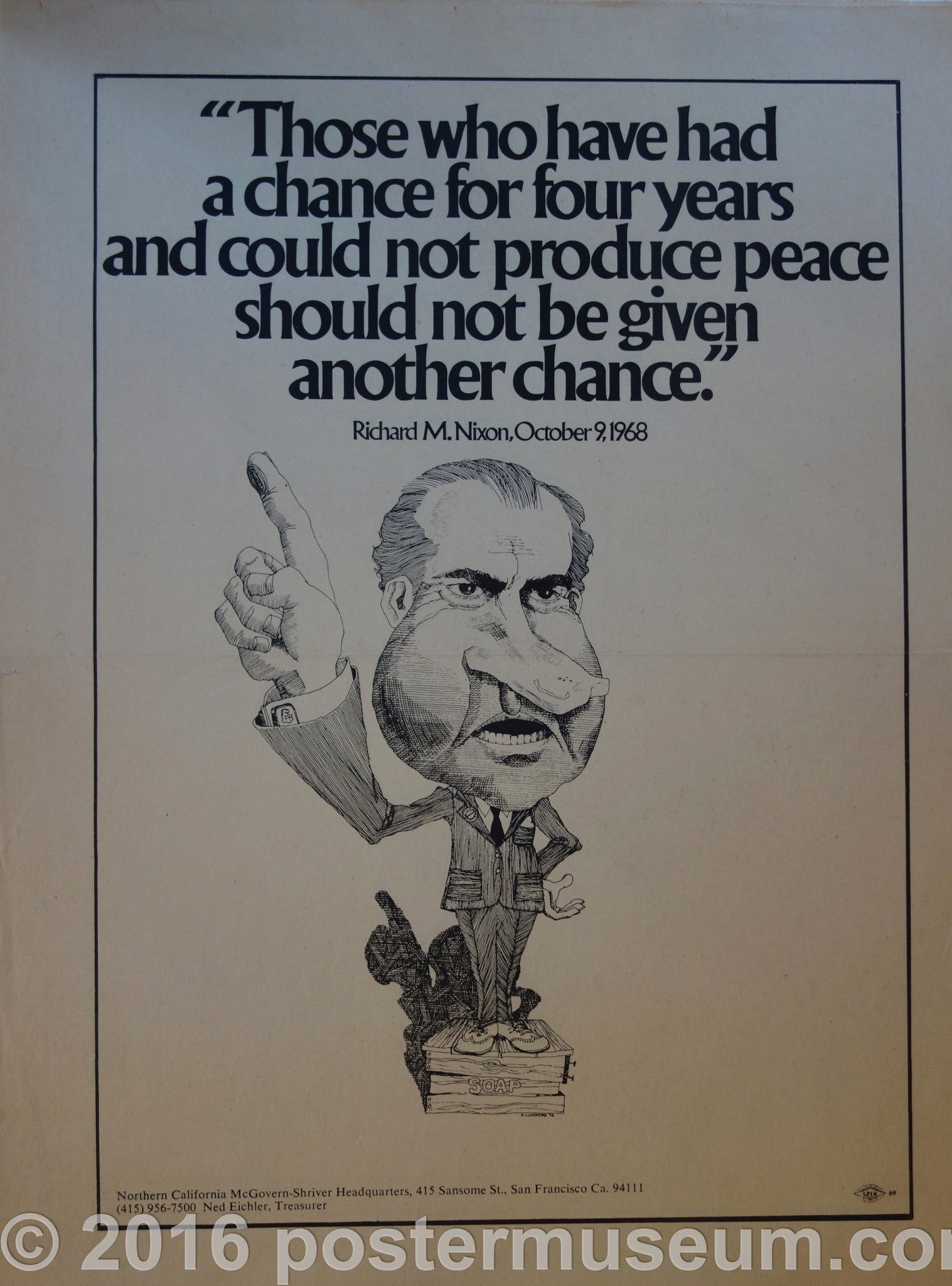 "Richard M. Nixon ""Those who have had a chance"" Quote"