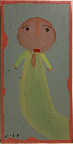 Concerned Baby Mose Tolliver Painting