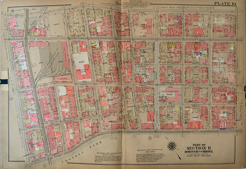Atlas of the City of New York  Borough of the Bronx (Volume 2) 36
